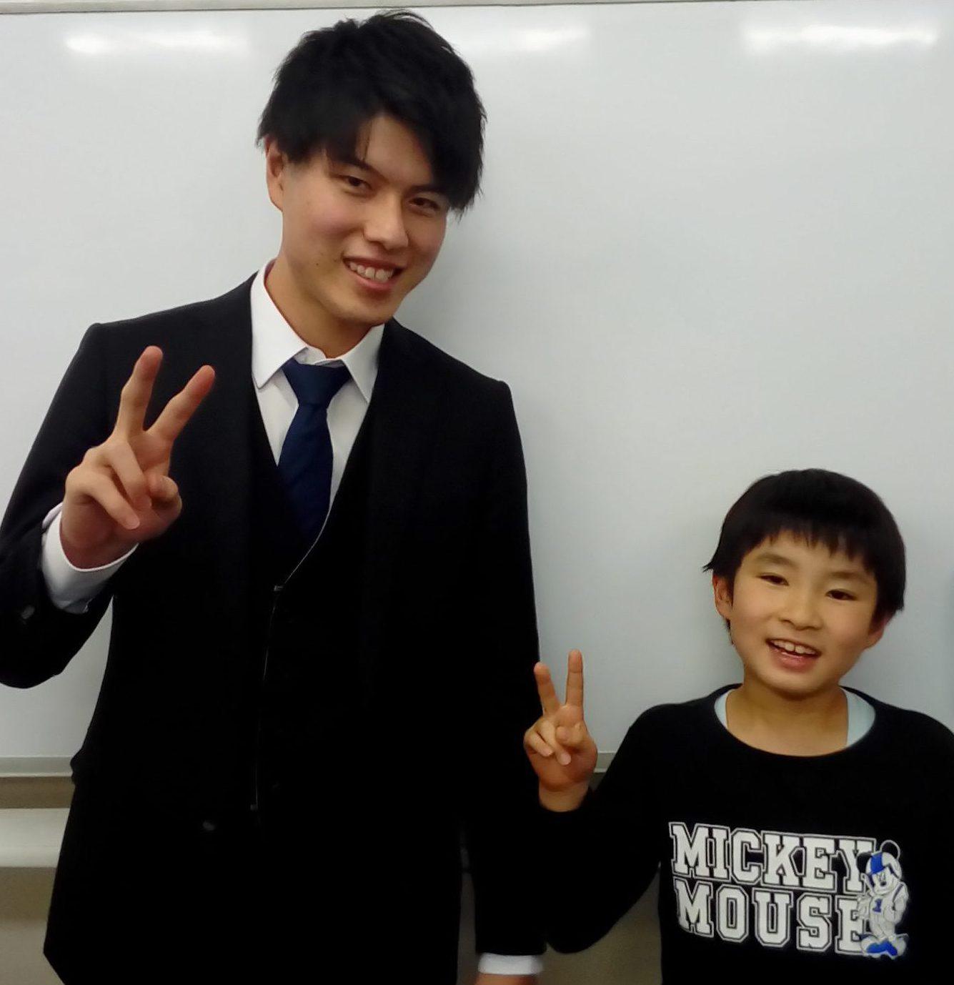 S君&茅野先生